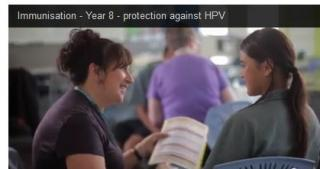 The videos are available to public health nurses to download.
