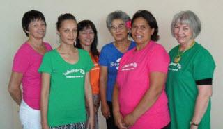 The Hawke's Bay population screening recruitment and retention team.