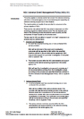 Image preview of National Screening Unit Policy Framework: Adverse Event Management Policy (NSU 01) resource